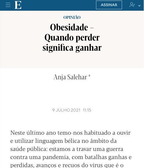 Artigo de Opinião Diretora-Geral da Novo Nordisk, Anja Salehar – Expresso Online