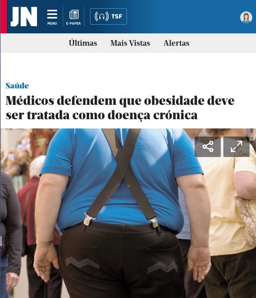 Médicos defendem que obesidade deve ser tratada como doença crónica – Jornal de Notícias Online